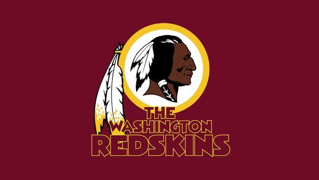 Washington Redskins logo.