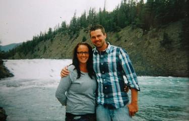 Blair McMillan and his wife Morgan before going technology free.   McMillan photo/Toronto Sun/QMI Agency