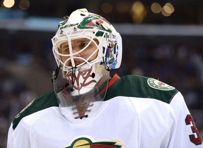 Ilya Bryzgalov of the Minnesota Wild (Harry How/Getty Images/AFP)