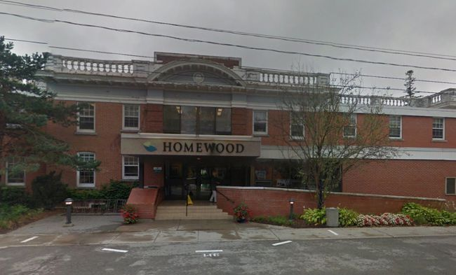 Homewood Health Centre. (Google Maps)