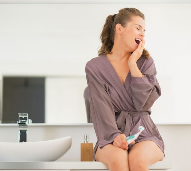 Yawning cools the brain, new study says (Fotolia)