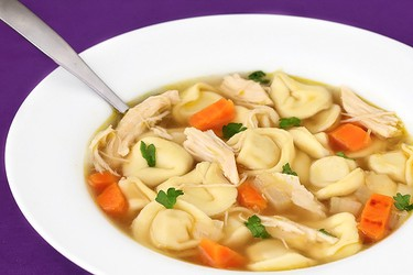 Chicken tortellini soup. (Gimmesomeoven.com)