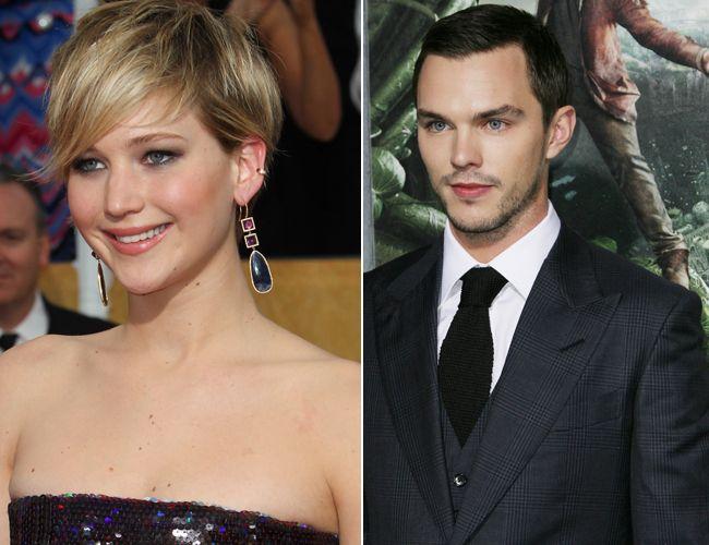 Jennifer Lawrence and Nicholas Hoult. (WENN.com)