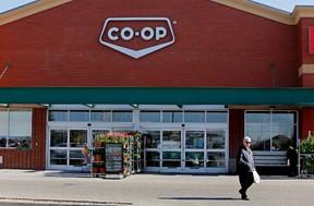 The Sobeys Hawkstone at 18370 Lessard Rd in Edmonton, AB in Edmonton, Alta., is now a Co-op grocery store. (Tom Braid/Edmonton Sun)
