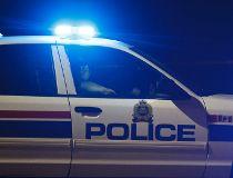 Edmonton Police Service car.