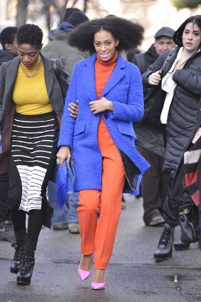 "Solange Knowles (TNYF/<A HREF=""http://www.wenn.com"" TARGET=""newwindow"">WENN.COM</a>)"