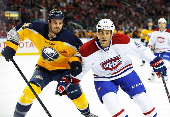 Buffalo Sabres forward Zenon Konopka was suspended 20 games for violating the NHL/NHLPA Performance Enhancing Substances Program. (USA Today)