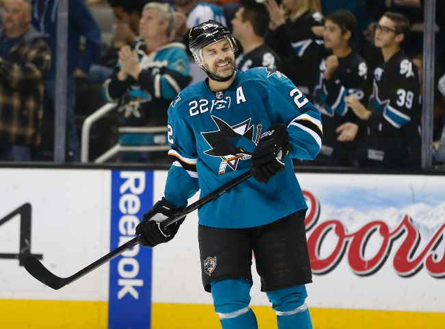 Sharks defenceman Dan Boyle won't be in San Jose. (Bob Stanton-USA TODAY Sports)
