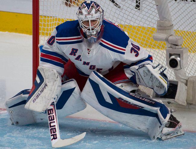 Rangers goaltender Henrik Lundqvist. (Martin Chevalier/QMI Agency)