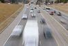 Cars and trucks head over the Rainbow Valley Bridge in Edmonton. Ian Kucerak/Edmonton Sun/QMI Agency