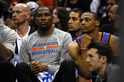 Durant, Westbrook