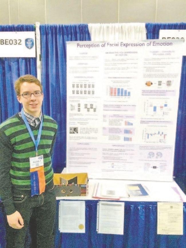 Dan Alferov represented Canada at the Intel International Science and Engineering Fair in Los Angeles, Calif.