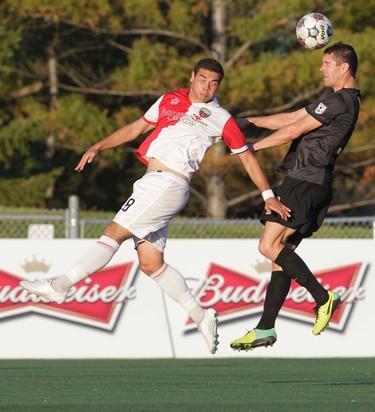 The Ottawa Fury FC took on the San Antoniop Scorpions at Keith Harris Stadium in Ottawa On. Saturday May 24,  2014.   Tony Caldwell/Ottawa Sun/QMI Agency