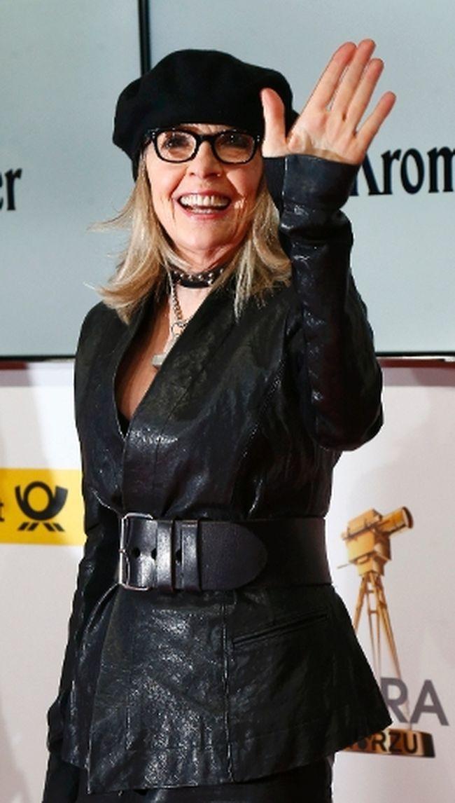 Diane Keaton. REUTERS/Tobias Schwarz