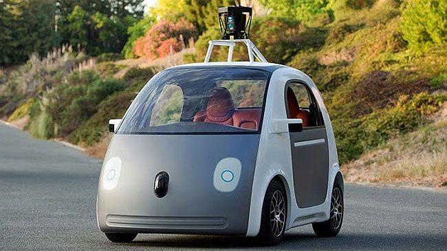 Early version of Google's prototype vehicle. (Google Inc)