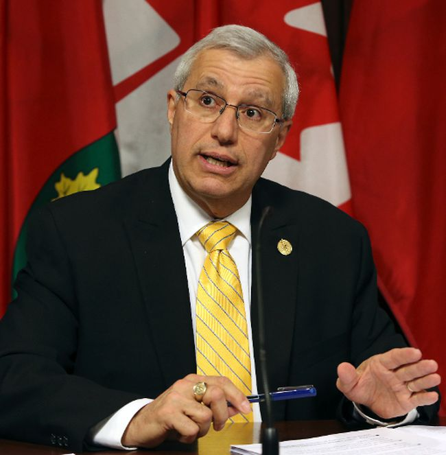 Vic Fedeli (Toronto Sun Files)