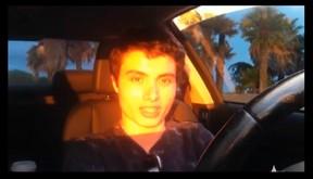 Elliot Rodger in YouTube video.  (Reuters/Elliot Rodger YouTube)