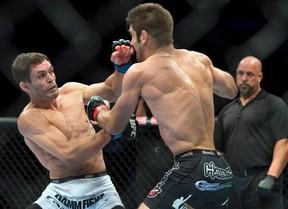Rodrigo Damm was defeated easily by Rashid Magomedov at the Ultimate Fighter: TUF Brazil 3 Saturday night. (QMI Agency file photo)