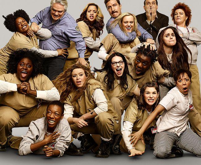 """Orange is the New Black"" cast."