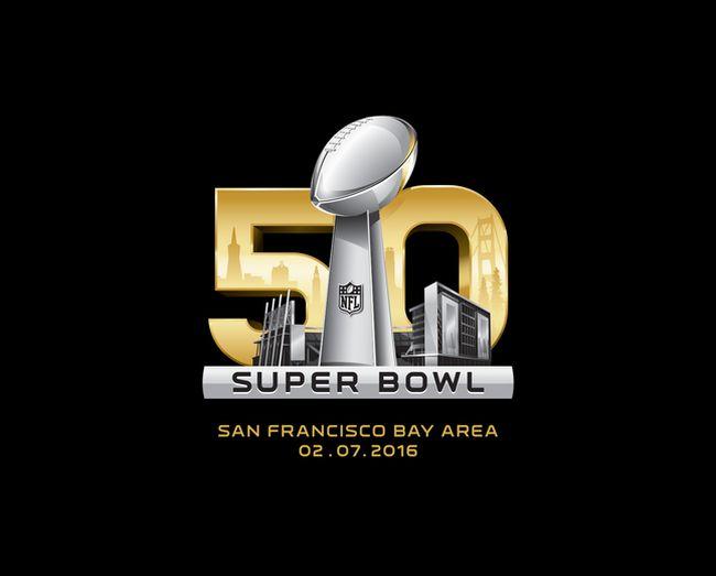 Super Bowl 50 logo. (NFL)