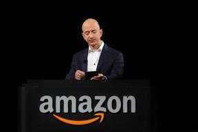 Amazon chief executive officer Jeff Bezos. REUTERS/Gus Ruelas/Files