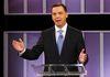 Ontario Progressive Conservative Leader Tim Hudak takes part in the leaders debate in Toronto, June 3, 2014. REUTERS/Mark Blinch