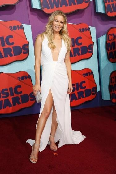 Singer LeAnn Rimes arrives at the 2014 CMT Music Awards in Nashville, Tennessee June 4, 2014. (REUTERS/Eric Henderson)