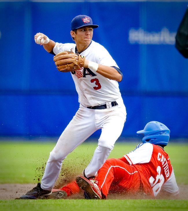 Bob Elliott thinks Blue Jays could draft shortstop Trea Turner in the MLB draft Thursday. (AFP)