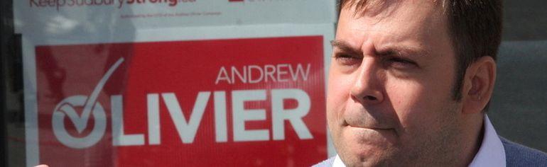 JOHN LAPPA/THE SUDBURY STAR Andrew Olivier in this file photo.