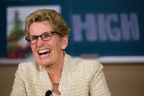 Premier Kathleen Wynne.  (Derek Ruttan/Postmedia Network)