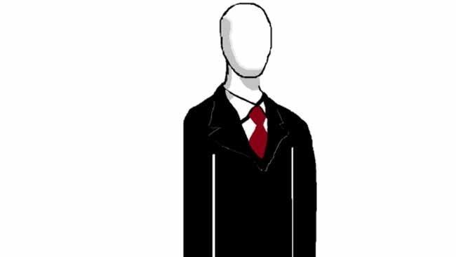Slender Man illustration.  (Wikicommons)