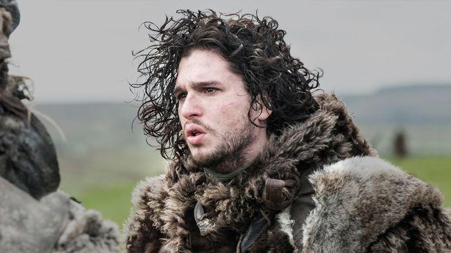 "Kit Harington as John Snow in ""Game of Thrones."""