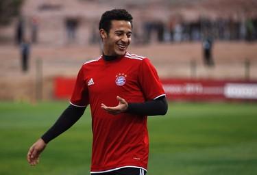 THIAGO ALCANTARA Country/appearances: Spain/5 Position: Central midfielder Injury: Knee