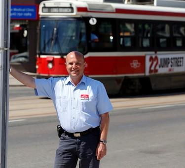 Etobicoke-Lakeshore Liberal candidate Peter Milczyn in his riding on Monday, June 9, 2014. (MICHAEL PEAKE/Toronto Sun)