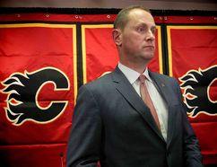 Flames GM Brad Treliving. Photo by Al Charest/Calgary Sun.