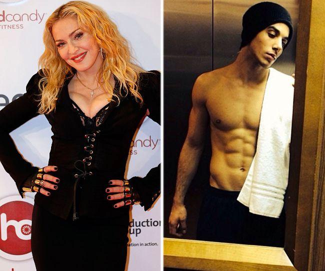 Madonna and new beau Timor Steffens. (QMI/Instagram photos)