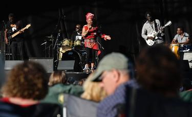Lorraine Klassen performs during the TD Ottawa Jazz Festival on Saturday, June 21, 2014. Matthew Usherwood/Ottawa Sun