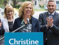 MPP Christine Elliott announces she is running for the PC Party leadership on Wednesday, June 25. (CRAIG ROBERTSON/Toronto Sun)