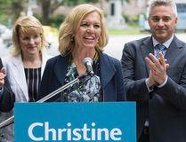 MPP Christine Elliott announces she is running for the PC Party leadership on Wednesday. (CRAIG ROBERTSON/Toronto Sun)