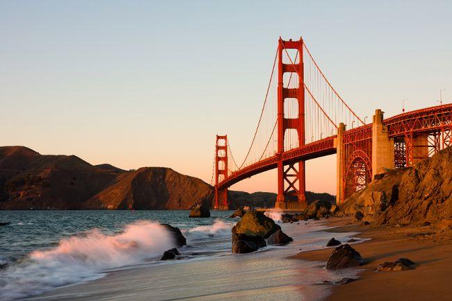 The iconic Golden Gate Bridge. FOTOLIA