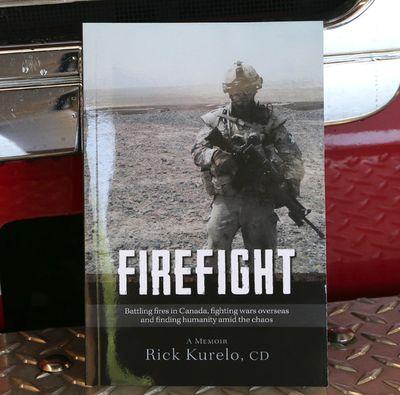 Rick Kurelo has released a book Firefight. (Veronica Henri/Toronto Sun)
