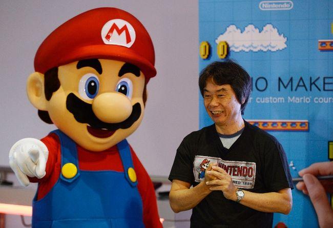 Shigeru Miyamoto of Nintendo. REUTERS/KEVORK DJANSEZIAN