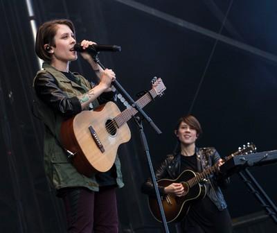 Tegan and Sara performing on opening night at Bluesfest. July 3, 2014. Errol McGihon/Ottawa Sun/QMI Agency