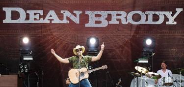 Dean Brody performing on opening night of Bluesfest. July 3, 2014. Errol McGihon/Ottawa Sun/QMI Agency