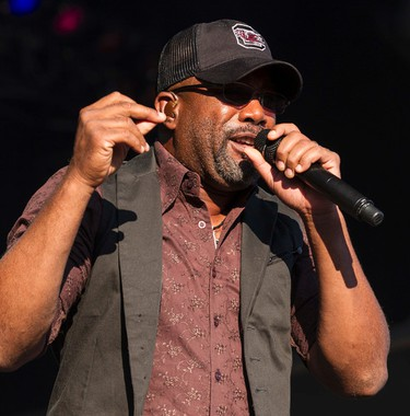 Darius Rucker performing at Bluesfest on Friday July 4, 2014. Errol McGihon/Ottawa Sun/QMI Agency