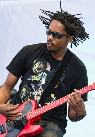 Black Joe Lewis performs at Bluesfest on Saturday July 5, 2014. Errol McGihon/Ottawa Sun/QMI Agency