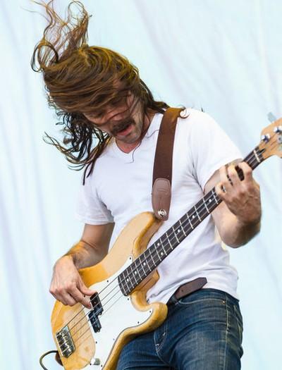 Black Joe Lewis bass player performing at Bluesfest on Saturday July 5, 2014. Errol McGihon/Ottawa Sun/QMI Agency