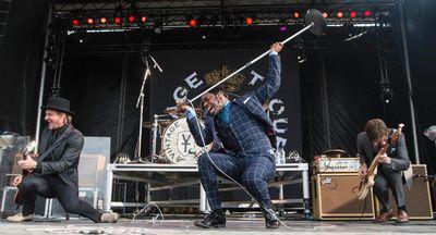 Vintage Trouble performing at Bluesfest on Sunday July 6, 2014. Errol McGihon/Ottawa Sun/QMI Agency