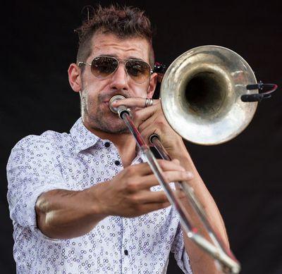 Shantel & Bucovina Club Orkestar performing at Bluesfest on Sunday July 6, 2014. Errol McGihon/Ottawa Sun/QMI Agency