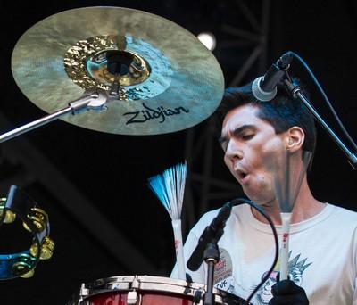 Brian Viglione of the Violent Femmes performing at Bluesfest on Sunday July 6, 2014. Errol McGihon/Ottawa Sun/QMI Agency
